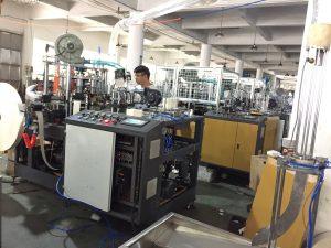 Russia vending paper cup machine ZBJ-OC12 test