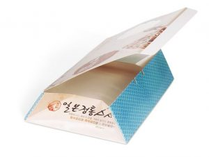 4 corner box folding gluing machine