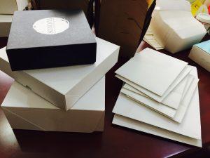 4 corner box, 6 corner box, pizza box, cake box