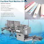 paper cup bowl container film packing macine