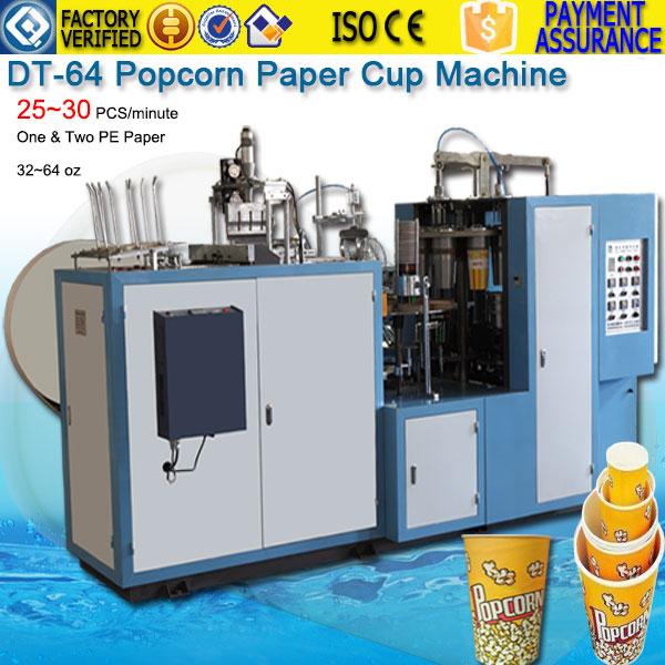 32~64oz Popcorn Paper Cup Forming Machine DTJ-64