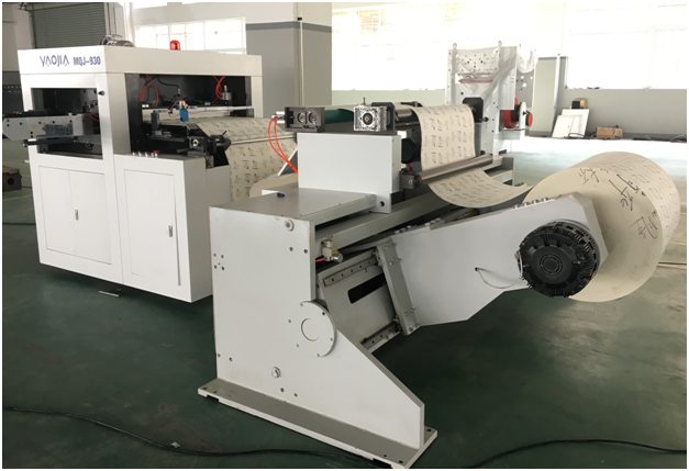 roll paper cup fan die cutting machine