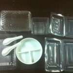 plastic container lids tray