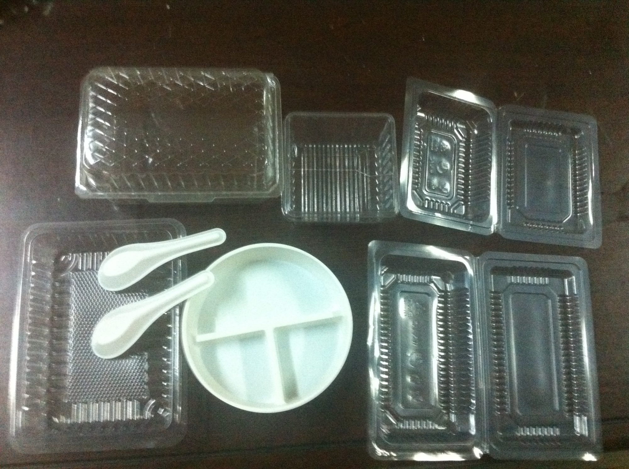 Plastic Container Tray Box Plastic Thermoforming Machine