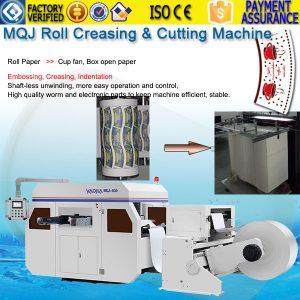 Roll paper plate tray die cutting machine MQJ-930