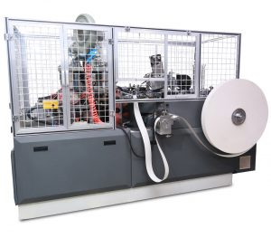 12oz coffee paper cup machine test ZBJ-OC12 Open Cam
