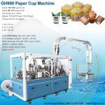 GH990 paper cup bowl machine, paper cup bowl making machine