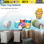 paper cup material, paper cup paper, paper cup PE coated paper