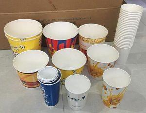 Popcorn paper cups, popcorn paper bucket