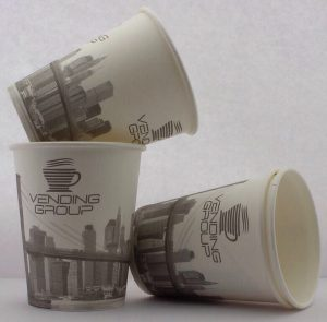 Customize logo printed coffee tea paper cups, Russia