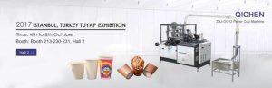 Turkey exhibiton paper cup machine