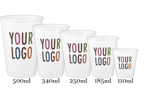 Ukraine customize logo printed paper cups
