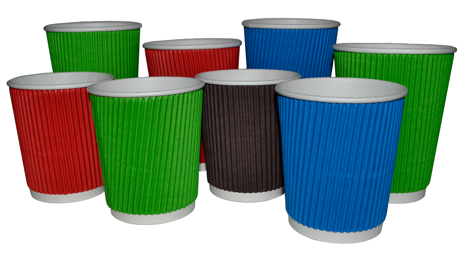 Ukraine ripple paper cups, corrugated paper cups,