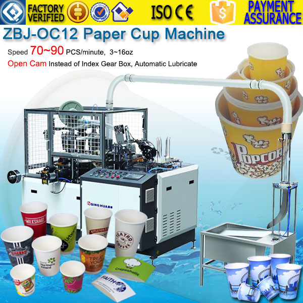 22oz Paper cup making machine USA America