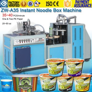 instant paper noodle box making machine price