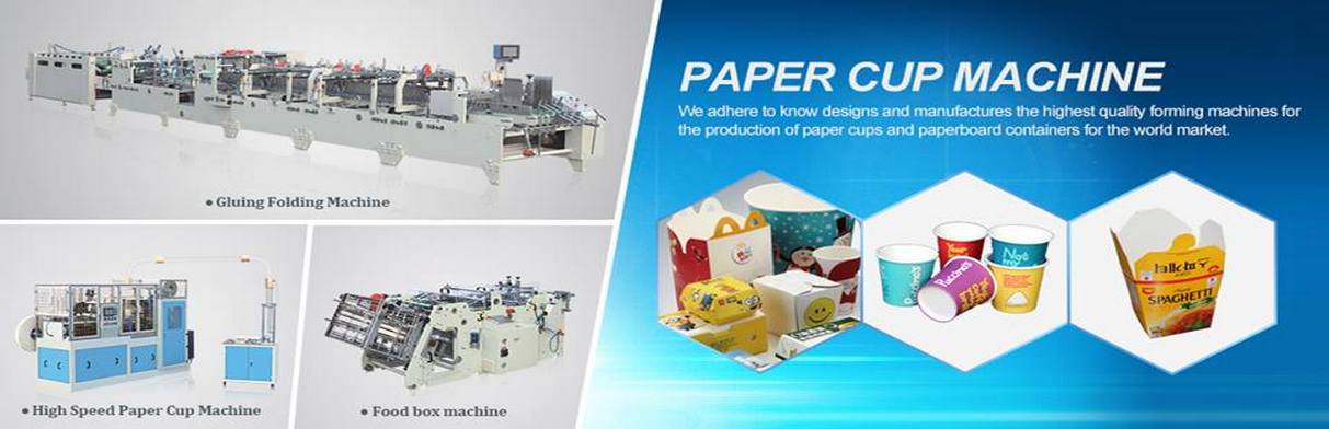 Paper Food Pail Machine