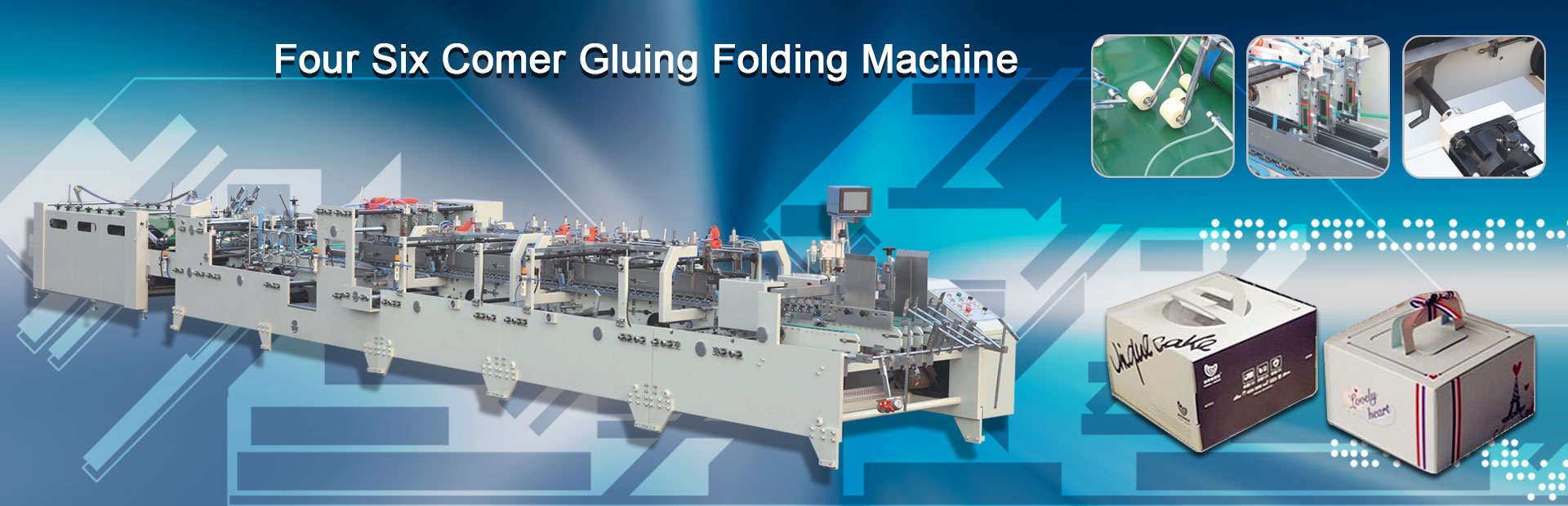 Box Glue Fold Machine