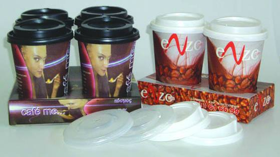 Greece paper cups Superior Quality Disposable Coffee Cups