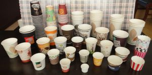 single PE coated paper cups, hot drink paper cups