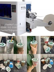 paper lid machine for paper cup bowl container